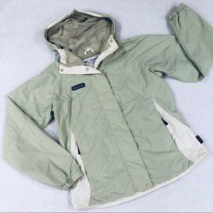 COLUMBIA Womens Packable Rain Wind Jacket Sz M
